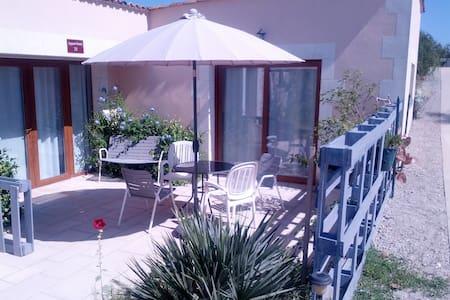 Appart Hotel avec terrasse - Availles-en-Châtellerault - Rumah