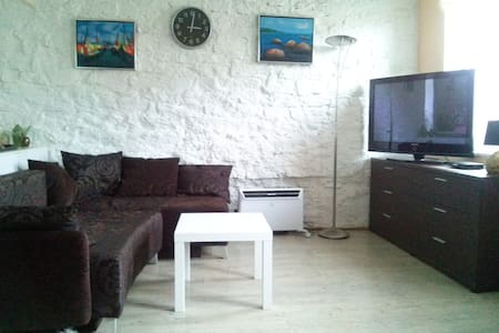 Cozy apartment with free parking in downtown area! - Tallinn - Tretopphus