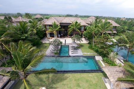 Luxurious 5 Bedroom Villa Beachfront - Canggu,Bali - Mengwi - Villa
