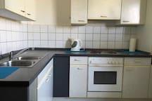 Mobilisierte zwei Zimmer Wohnung