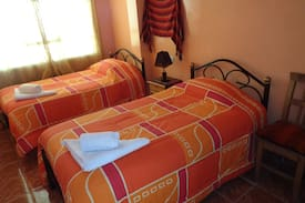 Picture of double room with heating