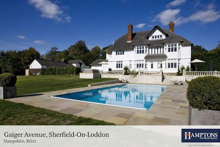 Beautiful Country House in 18 acres with pool - Sherfield on Loddon