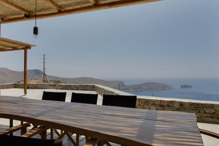 Deep Blue, awesome Aegean sea view villa, house 2 - Serifos - Haus