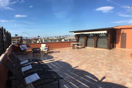 Penthouse - Ercolano Vesuvio Pompei - Apartmen