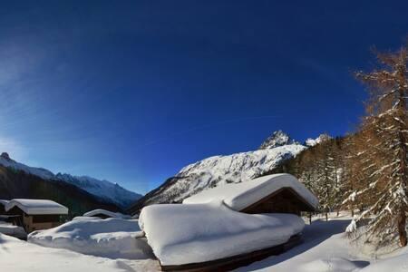 Duplex vue massif et Mont Blanc