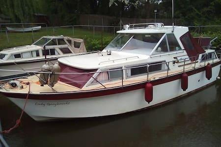 Lady Greybrooke - Boat