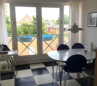Cosy City Penthouse - Odense - Apartment