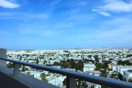 Panorama au centre de Tunis - Apartment