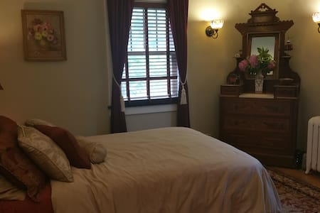 Newly renovate historic home, bedroom 2 - House