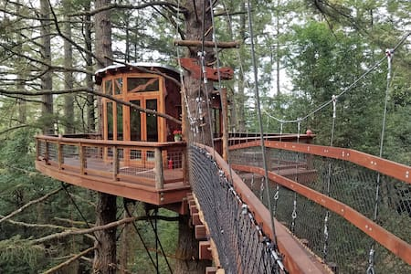 Eagle's Nest Treehouse - Casa na árvore