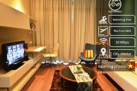 Luxury SOHO Suite with WIFI @ Imago Mall - Apartament