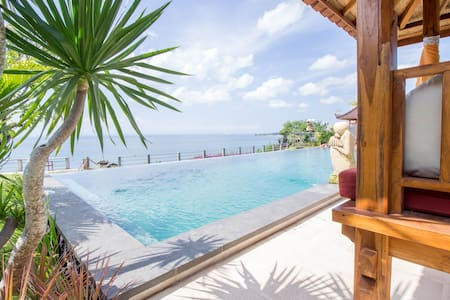 Balinese Apartment with Amazing View in Uluwatu #D - 公寓