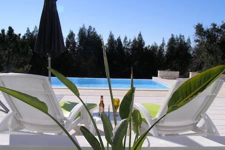 Apartment in rural area with shared pool - Salir de Matos