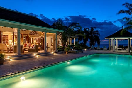 Ideal for Couples & Families, Heated Pool, Chef & Butler... Don't Lift a Finger This Vacation! - Bahía de Montego - Villa