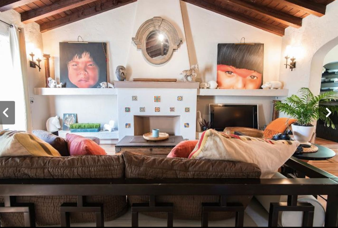 This very special 1934 beach bungalow is filled with comfortable furnishings.  Put your sandy feet up and relax!!!