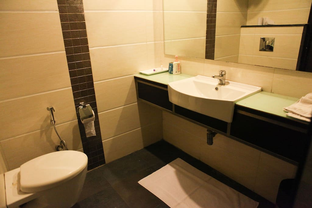 Attached Bathrooms