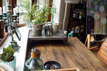 Big apartment with personality and creative style - Aalborg - Appartement