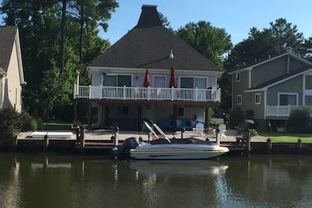 Teal House - Waterfront Get-a-Way! - Ocean Pines