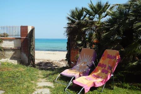 Casina Blu- Bungalow sulla spiaggia - Fontane Bianche - Bungalow