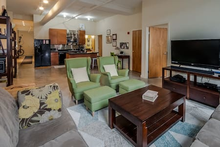 Downtown Loft (Quiet but Close to Attractions!) - St. Louis - Loft