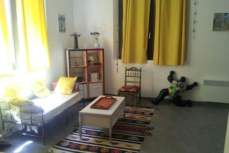 Studio coeur village de Torreilles - Apartamento