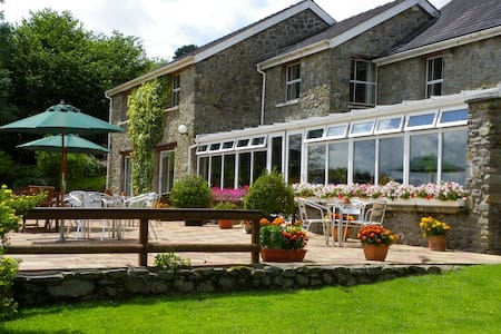 Double Bedded Room - Cynghordy - Bed & Breakfast