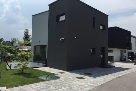 Modern Private House in suburb of Ljubljana - Zbilje - Haus