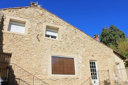 1 chambre à louer dans maison en pierres - Lespignan - House