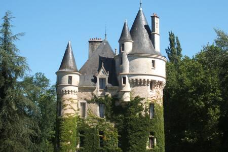 Château la Chaise -chambre Louis XV - Castle