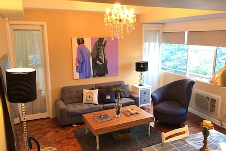 Greenhills 1BR Central Location - Pis