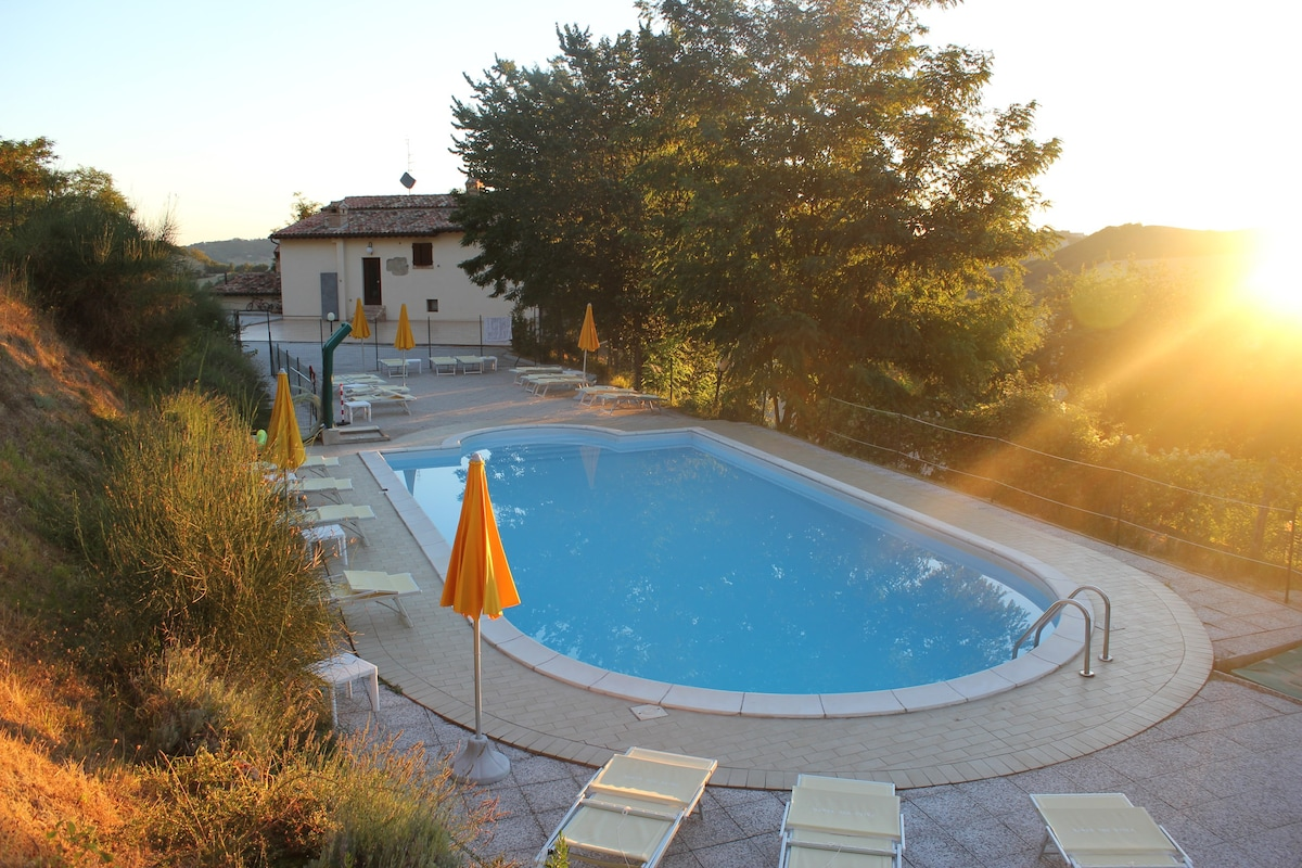 Apartments with swimming pool in Maratea