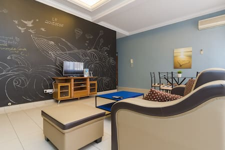 【PROMO!】cozy homestay 3 rooms apt - Penang Island - Wohnung
