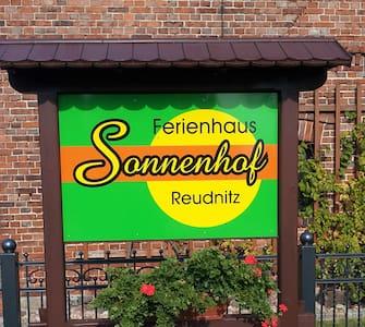 Unser Ferienhaus Sonnenhof Reudnitz - Hus