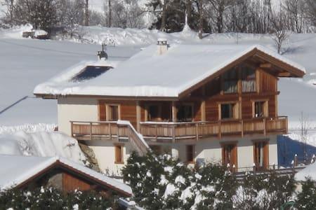 Chalet French Alps la Plagne Paradiski - Almhütte