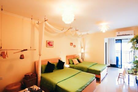 花艺师白姑娘的自然美宿,琶洲新村给您一个温馨的家 - Apartament