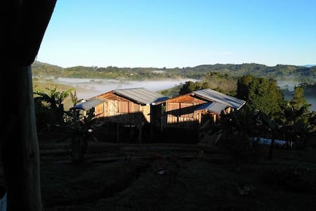 CABAÑA CERCA JARDIN BOTANICO WILSON - San José - Sommerhus/hytte