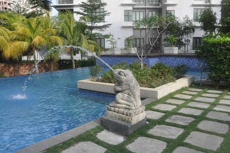 Cozy Family Resort, Penthouse@Near KL & Sunway - Wohnung