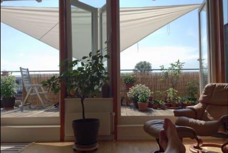 Sunny penthouse with terraze - Hambourg - Loft