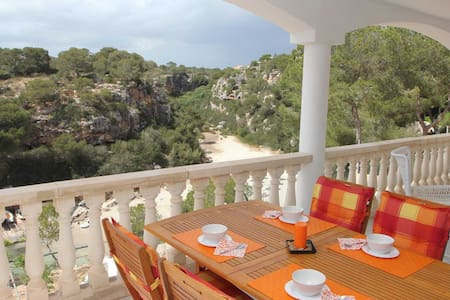 Sea view- apartment, 50 m from the beach access - Pis