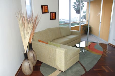 Miraflores Ocean view and close to Parque del Amor - Miraflores - Apartment