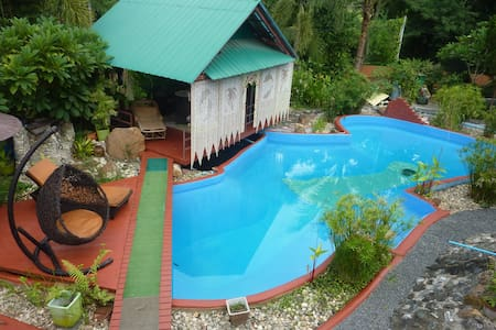 House for rent whis POOL for max. 4 Person - Doi Saket - Huis