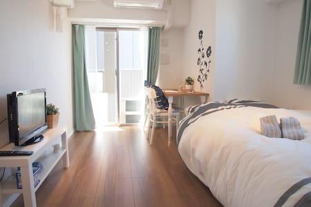 A4 Great access! Wi-Fi Best location of Shinjuku - Shinjuku-ku - Lägenhet