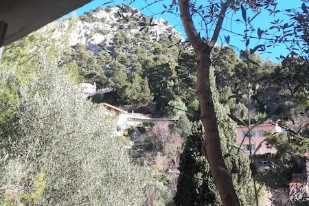 bas de villa ensoleillé faron - Toulon - Villa