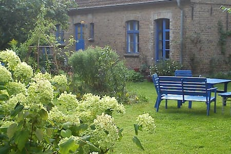 Wohnung in eh. Dorfschule u. Garten - Rheinsberg - Apartment