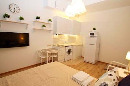 New cozy studio4 in center Moscow - Москва - Appartement