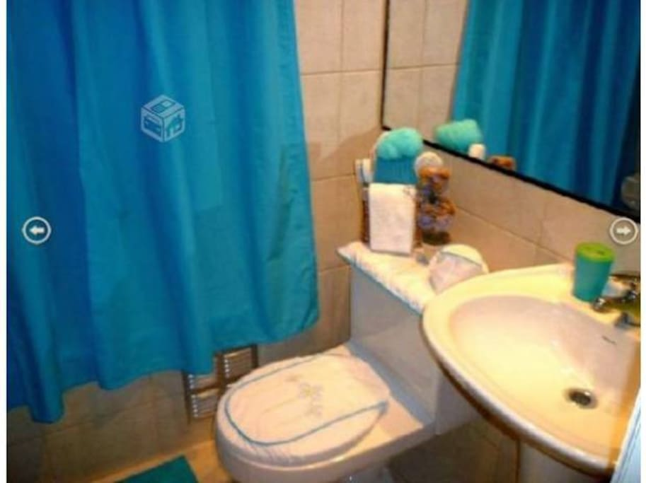 baño visitas, al lado de dormitorio 2