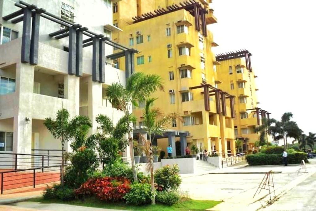 The Condominium (view from outside)