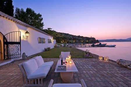 Waterfront Villa in Agia Pelagia, Corfu - Corfu