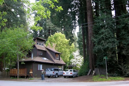 Boulder Creek Cottage in Redwoods
