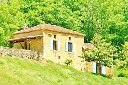 Bézétou, maison de charme périgourdine - Saint-Cernin-de-l'Herm - Hus